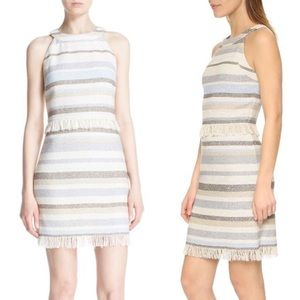 Tory Burch Striped Sheath Dress